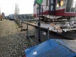 Promenade am Hafenbecken teilweise gesperrt