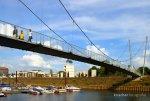 Buckelbrücke ist wieder freigegeben