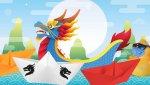 Mitmachaktion zum chinesischen Drachenbootfest