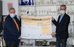 PKF spendet 1.000 € an die Tafel